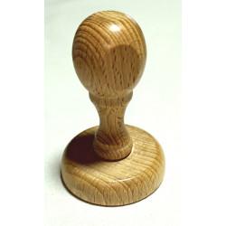 Montura de madera redondo