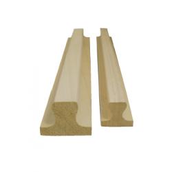 Moldura de madera 250mm